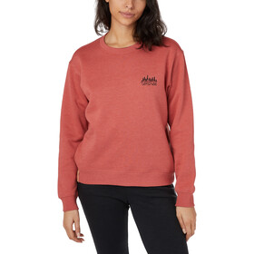 tentree LS Crew Shirt Women mineral red heather